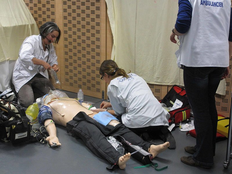 Simulation in action at Le SiMU